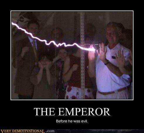 star wars emperor quotes. Emperor before evil