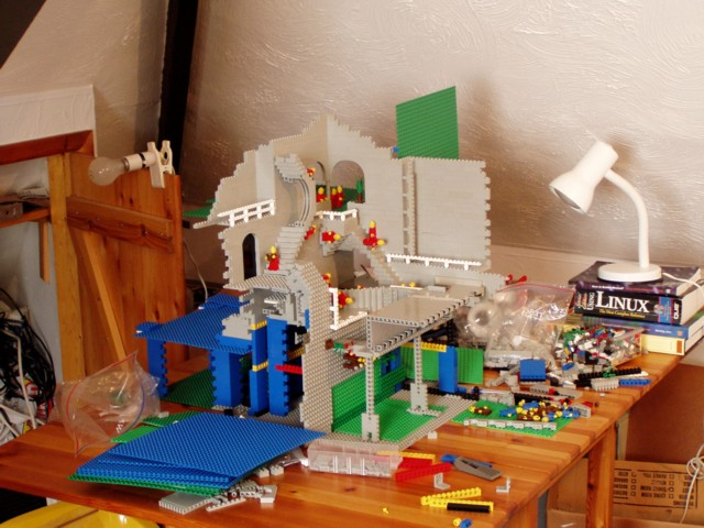 Setup for lego recreation of relativity