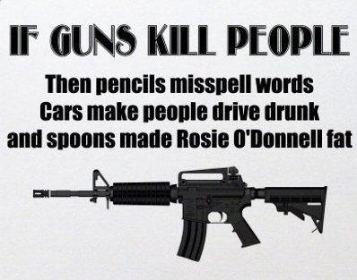 Gun's don't kill people
