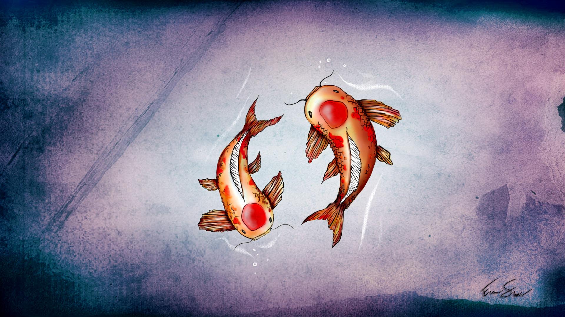 wallpaper koi fish evan 39 s blog