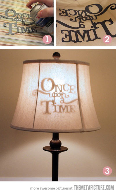 stenciled-lamp-shade-silhouette