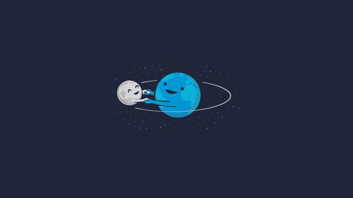 earth-and-moon-in-orbit
