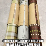 wrapping paper tip